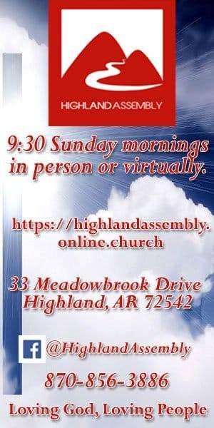 Highland Assembly of God aug 1 2021